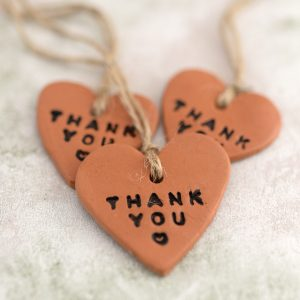 thank you tags for party favors
