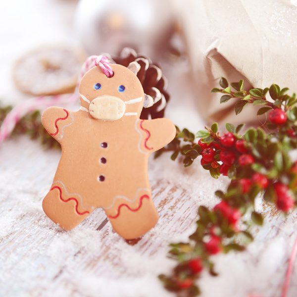 gingerbread-man christmas-tree- decorations